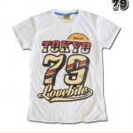 เสื้อยืดหญิง Lovebite Size L - Tokyo 79