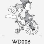 ตราปั๊มงานแต่ง WD006