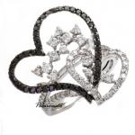 รหัส NAR18K0515-14 แหวนเพชร BLACK DIAMOND ฝังเคียงคู่ WHITE DIAMOND เพชรน.นรวม 1.44 กะรัต ราคา 3,850 บาท*10เดือน มีวงเดียวเท่านั้น โทร.0948626521/Line : @passiongems (อย่าลืมใส่ @หน้าpassiongems นะคะ)