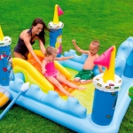 Intex Fantasy Castle Water Slide Play Center สระสไลด์เดอร์ปราสาท 57138