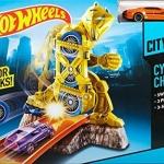 Hot Wheels Cyborg Challenge Killer track ของใหม่ ของแท้ ส่งฟรีพัสดุไปรษณีย์