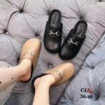 รองเท้าแตะคัทชูเปิดส้นแฟชั่น ไซส์ 36-40