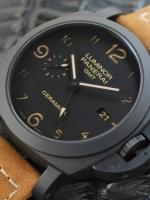 นาฬิกา Panerai Luminor Tuttonero GMT Pam 441 Ceramic PVD สุดยอดระบบจริงทั้งหมด ยอดขายอันดับ 1