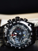 Casio Edifice Black Red Bull Racing Limited Edition EF-550RBSP-1A ALL ระบบ Chronograph