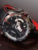 นาฬิกา Tag Heuer Grand Carrera Calibre 36 PVD สายหนังด้ายแดง สายขั้นเทพรุ่นดังพร้อมกล่องหรูๆ
