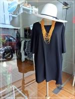 Black Blouse Size 50 สีดำ