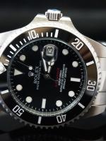 นาฬิกา Rolex Submariner Limited Edition Date Automatic สายเลสสีเงิน หน้าปัดสีดำ รุ่นยอดฮิต เกรด Mirror สวยจับใจ