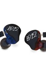 ขาย KZ ED12 หูฟังแบบ Sport ถอดสายได้ รูปทรง 3 มิติ เบสลึก เสียงคมชัดทุกย่าน