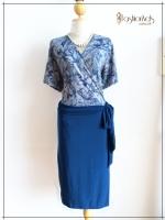 Love Dress Size 44 สีเขียวเทอร์คอยซ์