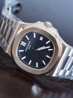นาฬิกา patek philippe nautilus รุ่น 5711/1A หน้าปัดสีดำ งาน Mirror รุ่นดัง ดาราใส่เยอะมากๆ