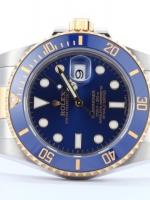 นาฬิกา Rolex Submariner Date Automatic สายเลส 2 กษัตย์ หน้าปัดสีน้ำเงิน รุ่นยอดฮิต เกรด Mirror สวยจับใจ