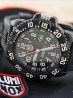 Luminox 3059 evo navy seal colormark series หน้าปัดสีขาว ใช้งานจริงกับหน่วย U.S. Navy Seals