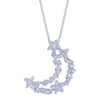 จี้เพชร+สร้อย ( pendant+chain)