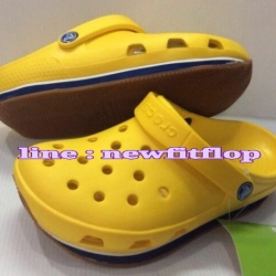 รองเท้า crocs retro clog รุ่นเรโทร สีเหลือง