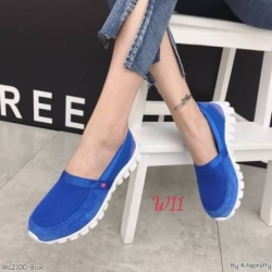 รองเท้าผ้าใบเพื่อสุขภาพวัสดุผ้ายืดใส่สบายนุ่มมาก
