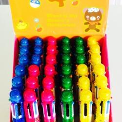 ปากกาจัมโบ้ 6 สี 36 แท่ง