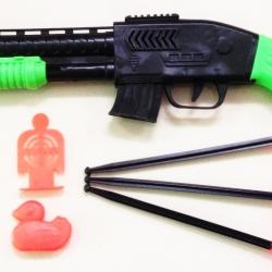 ปืนยาวยิงลูกดอก+เป้า 43 cm.