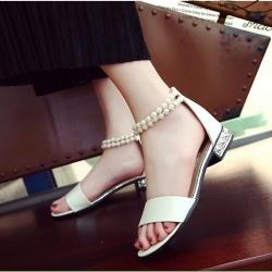 รองเท้าแตะแฟชั่นรัดส้น
