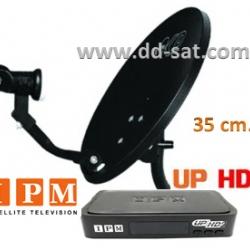 จานดาวเทียม IPM UP HD2