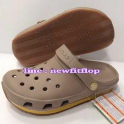 รองเท้า crocs retro clog รุ่นเรโทร สีน้ำตาลอ่อน