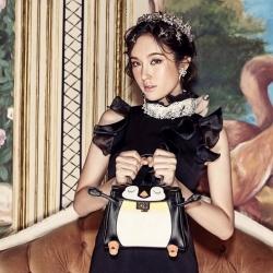 กระเป๋ารุ่นนกเพนกวิน QiQi งานหนังคุณภาพ