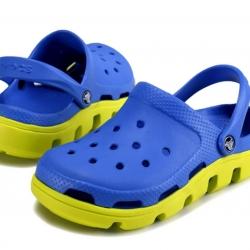รองเท้า CROCS รุ่น DUET SPORT CLOG สีน้ำเงินพื้นเหลือง