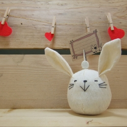 Rocking doll Rabbit