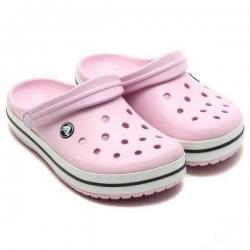 รองเท้า CROCS รองเท้าลำลองผู้ใหญ่ Crocband สีชมพู