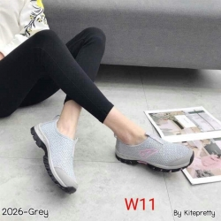 รองเท้าผ้าใบเพื่อสุขภาพเนื้อผ้ายืดหยุ่นสวมใส่สบาย