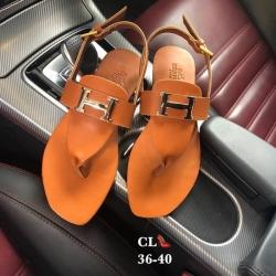 รองเท้าแตะหูคีบ style hermes ปั๊มโลโก้
