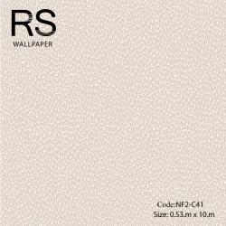 วอลเปเปอร์ลายเม็ดหินกรวดเล็กโทนสีชมพูขาว NF2-C41