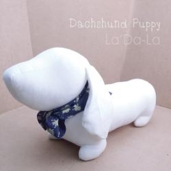 Dachshund Softy Toy - WHITE
