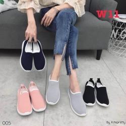 รองเท้าผ้าใบเพื่อสุขภาพผ้ายืด