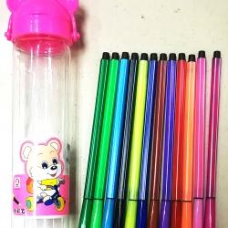 ปากกาเมจิกกระปุก 12 สี