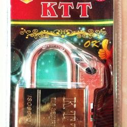กุญแจลูกปืนทอง KTT ขนาด 50 mm. คอสั้น
