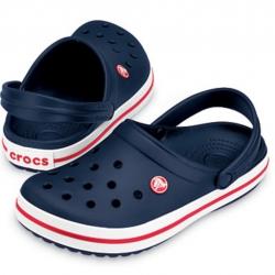 รองเท้า CROCS รองเท้าลำลองผู้ใหญ่ Crocband สีกรม