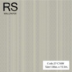 วอลเปเปอร์พื้นสีขาวมุกมีจุดเม็ดสีม่วงอมน้ำเงิน 27-C16W