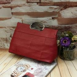 กระเป๋าหนังนิ่ม ทรงสวย ดูเรียบหรู สีพื้นแมทเสื้อผ้าง่าย