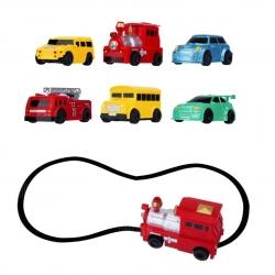 Inductive Rail Magic Car รถมหัศจรรย์วิ่งตามเส้น