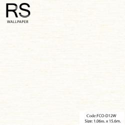 วอลเปเปอร์พื้นสีขาวแกมเหลืองทอง FCO-D12W