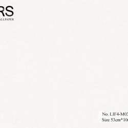 วอลเปเปอร์ยุโรปสีขาวพื้นเรียบ No.LIF4-M03