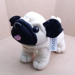 Pug Softy Toy - S WHITE