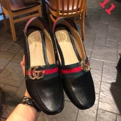 รองเท้าคัทชูแต่งโลโก้ Gucci งานใหม่ล่าสุด