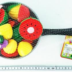 ชุดอาหารกะทะผ่าได้ถุงตาข่าย 30 ซม. (1x3)