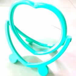 กระจกขาตั้งหัวใจสีหวาน 17 ซม.