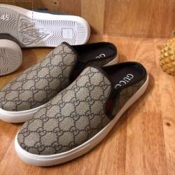 รองเท้าหนังชาย Gucci แบบเปิดส้น