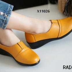 รองเท้าคัทชูหนัง เพื่อสุขภาพ งานพื้นซิลิโคนPUเนื้อแน่น