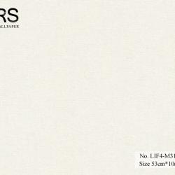 วอลเปเปอร์ยุโรปสีขาว มีกลิดเตอร์ No.LIF4-M31