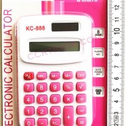 เครื่องคิดเลขสีสดแผง (มีถ่านในตัว) 14.5 ซม.(รุ่นใหม่)