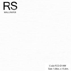 วอลเปเปอร์พื้นสีขาวแกมเทา FCO-D14W